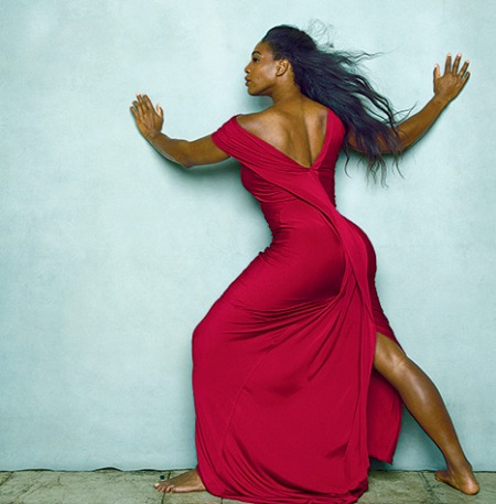 Serena Williams. Vogue Magazine, April 2015.