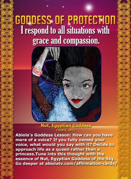 African Goddess Affirmation Cards-Abiola Abrams