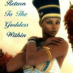 Meme-Return to the Goddess Within