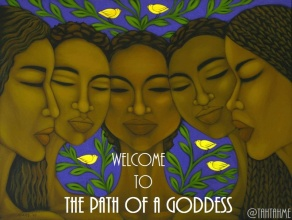 """TahTahme, author of the """"Overcoming Sexual Abuse: Prompts, Prayer, and Ritual (Womb Healing Workbook."""" I am a doula, womb worker, and female health advocate. Path of the Goddess"""