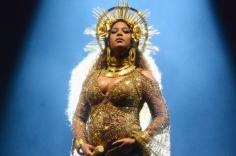 Beyonce during Grammys performance
