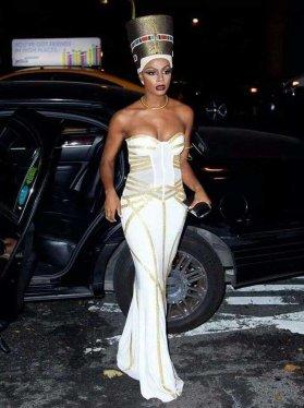 Goddess as Persona-Keri Hilton as Nefertiti