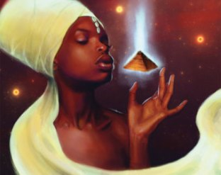Goddess-Mystic, Egyptian