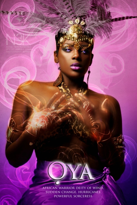 Oya, African Goddess. Yoruba Orisha