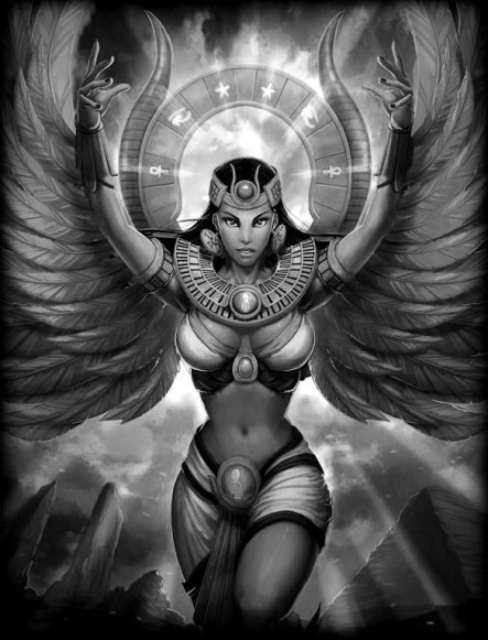 Goddess-Fantasy art
