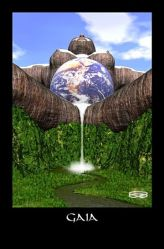 Gaia, mother of life, Spirit of Earth, queen of Creation.