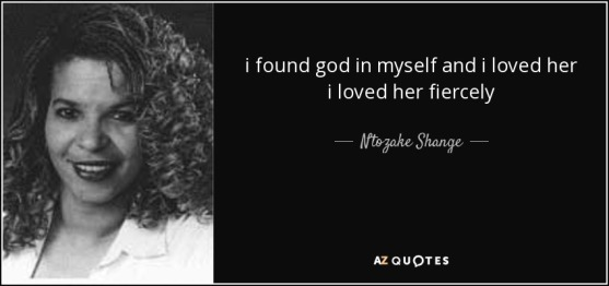 Ntozoke Shange