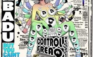 Erykah Badu. Control Freaq CD cover.