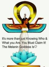 Meme. Melanin Goddess