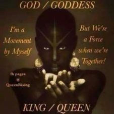 Meme. Black Goddess Affirmation/Meditation