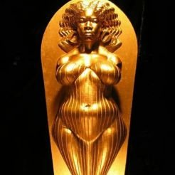Aphrodite is the African goddess of love, beauty, pleasure, and procreation.