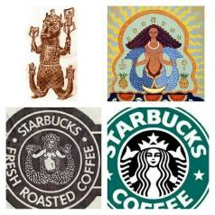 The Black goddess Yemaja is the inspiration for the Starbucks logo