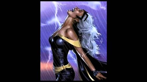 """Queen. Goddess. Cloud-Walker. I think those are too many titles for one who simply wishes to help."" - Storm [Marvel Comics]"