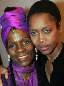 Queen Afua and Erykah Badu