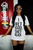 I met God, She's Black