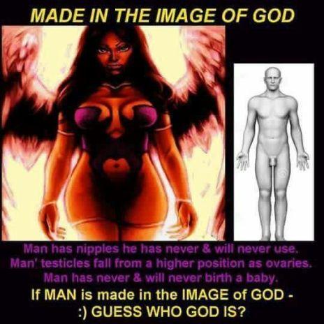 Black woman is God