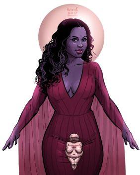 Biliquis, Goddess of Love. American Gods TV show, 2017